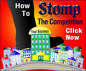 How To Stomp The Competition Book